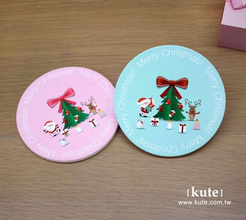 聖誕禮物 聖誕交換禮物 聖誕杯墊