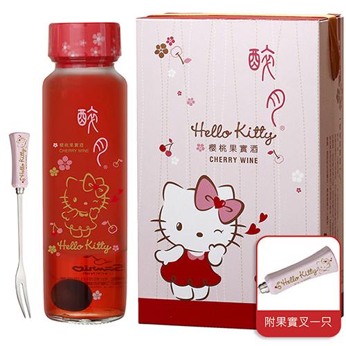 Kitty櫻桃酒 聖誕禮物 交換禮物 聖誕派對