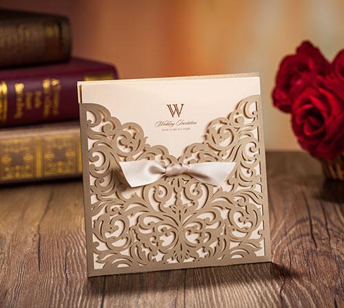 金婚 銀婚 喜帖設計 喜帖 推薦 創意喜帖 蕾絲封套婚卡